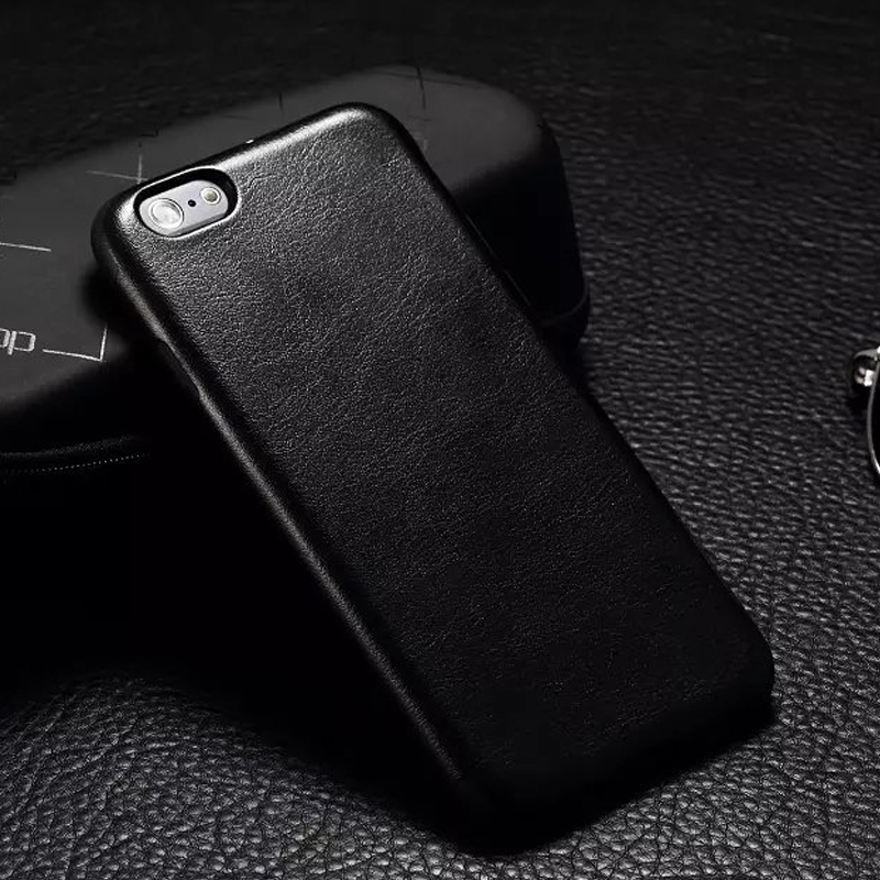 Business For Apple Iphone SE XS Max XR Vintage PU Leather TPU Phone Bcak Cases For Iphone 5S SE X 6S 7 8 Plus Soft Case