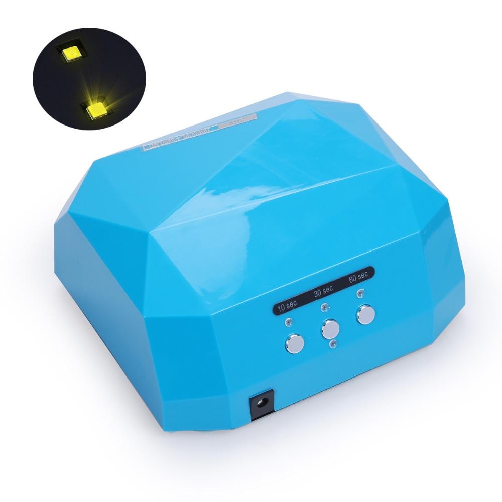 Sun 36 Watt Diamant Verbesserte UV & LED Nagel Lampe Für Nägel ...