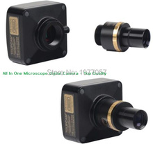 On sale Free shipping,All in one 14Mp USB2.0 microscope digital eyepiece camera +0.5X reducing lens  support XP/Vista/W7/W8/MAC