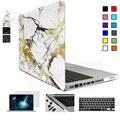 Матовый для Macbook Case Мраморный Air Pro Retina 11 12 13 15 Ноутбук сумка Чехлы для Mac Book 11.6 12 13.3 15.4 дюймов Ноутбук Чехол