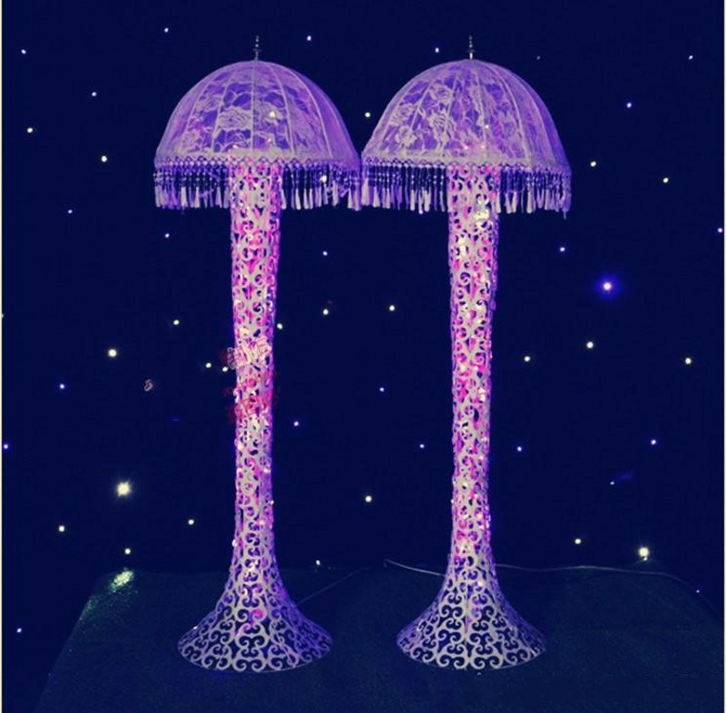 Fine New Wedding Decor Centerpieces Led Light Up Jellyfish Roman Column Road Leads For Party Decoration Props Birthday Theme Decorations Birthday Theme Download Free Architecture Designs Boapuretrmadebymaigaardcom