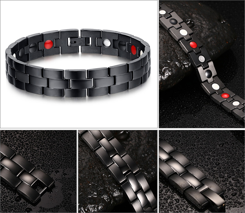Positive Feedback Is Very Important To Us Pls Contact Before You Leave Neutral Or Negative About Vnox Black Men S Health Bracelets