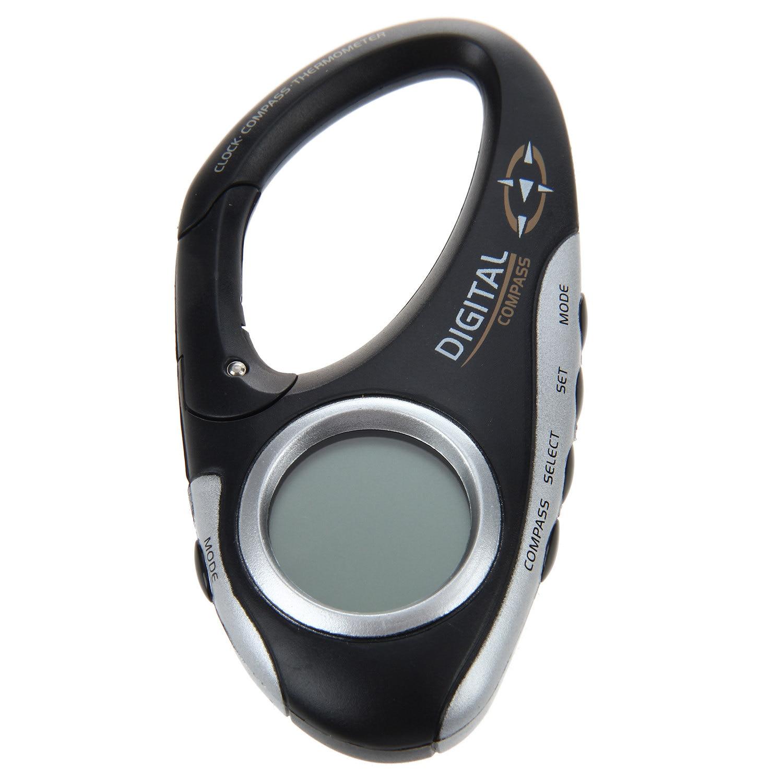 LGFM-Carabiner formula digital Compass thermometer ...