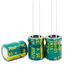 Nuovo originale di 6.8 UF 10 UF 15 UF 47 UF 220 UF 470 UF 680 UF 1000 UF 1500 UF 400 V 100 V 50 V 35 V 25 V 16 V 10*13 MM Condensatori Elettrolitici