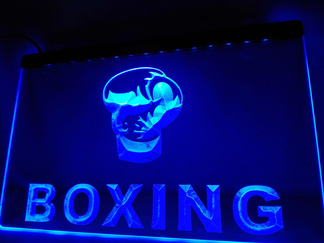 LB Boxing Gloves Club Fight Bar Pub LED Neon Light Sign Home - Car sign with namesonline get cheap d led sign aliexpresscom alibaba group