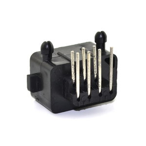 Image 5 - 10pcs Hight quality Replacement Parts 90 Degree 7 Pin Connector female for NES console Socket