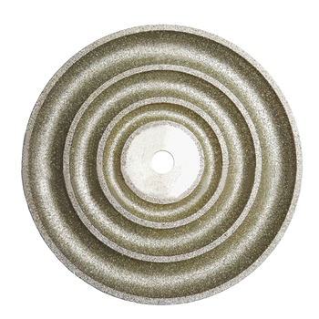 Egg Noodle Ring Surface Gem Machine Molding Disc 150mm Diameter 12.7mm Aperture Jade 3 Hook Grinding Disc Polishing Wheel