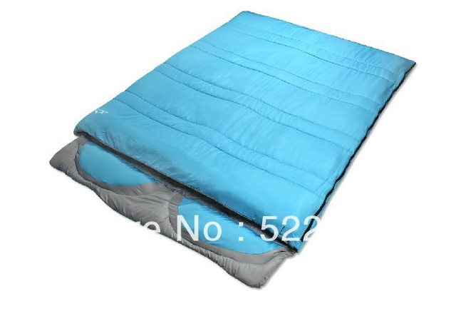 Us 43 0 Aliexpress One Piece Double Sleeping Bag Envelope Style Autumn And Winter With Pillow From Reliable Uk Suppliers