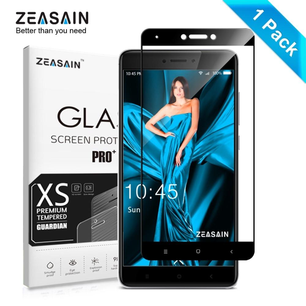 Original ZEASAIN Full Cover Tempered Glass for Xiaomi Redmi Note 4X 4 Xiomi Redmi Note4X Note4 Pro Prime Screen Protector Film