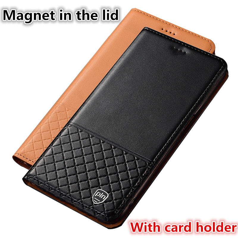 CH12 Genuine Leather Phone Bag With Card Holder For Sony Xperia XA Ultra(6.0') Case For Sony Xperia XA Ultra Flip Case