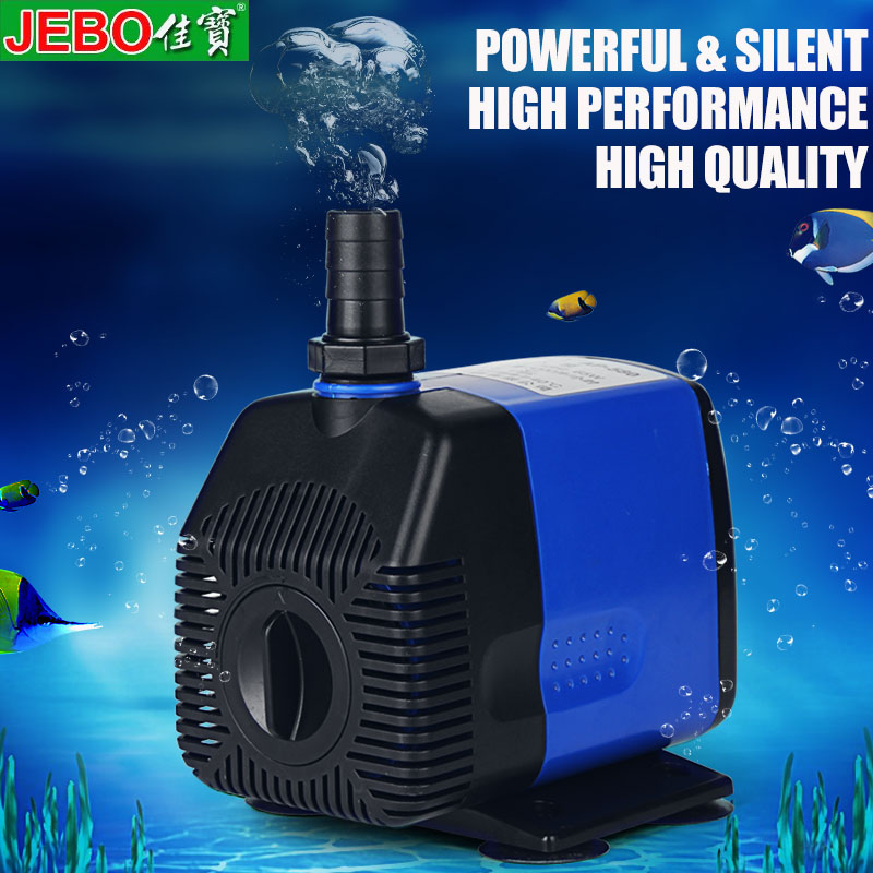 JEBO Adjustable Flow <font><b>Water</b></font> <font><b>Pump</b></font> For Aquarium Fish Tank Aquarium <font><b>Pump</b></font> Submersible <font><b>Pump</b></font> High Power High quality 5/9/19/26/62/65w image