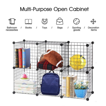 DIY Pet Playpen Fence Enclosure Yard Kennel Dog Cage Pen Crate Kennel Hutch Bunny Cage  Easy Install Storage Tool 5