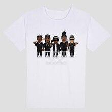 N.W.A, (Niggaz Wit Attitudes) Music theme Hip hop music groups Personality pattern design Men's short sleeve T-shirt NWA