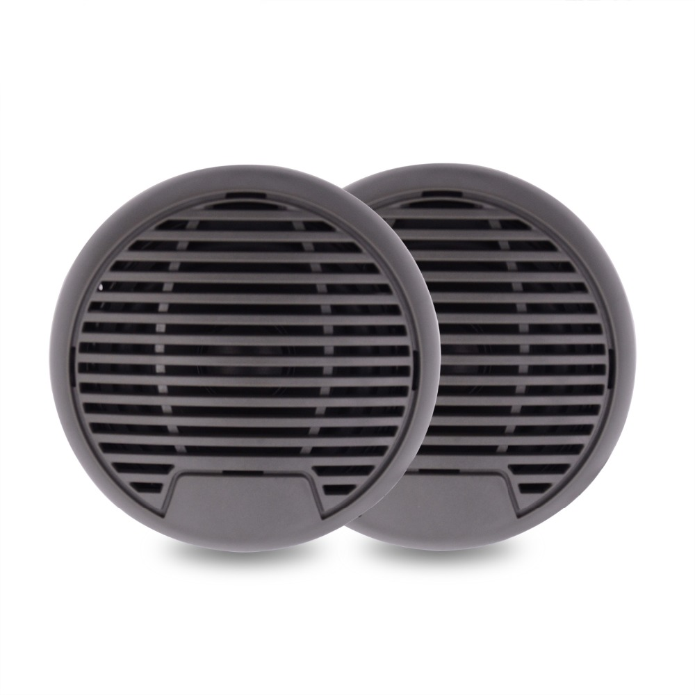 160Watts 3 inch 2 Way Marine Stereo Boat Waterproof Speakers for Motorcycle Golf Marine Boat SPA