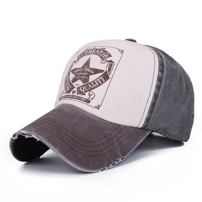 Moda Yaz Klassik Kişilər Qadın Məktub Çap Şapka Açıq İdman - Geyim aksesuarları - Fotoqrafiya 3
