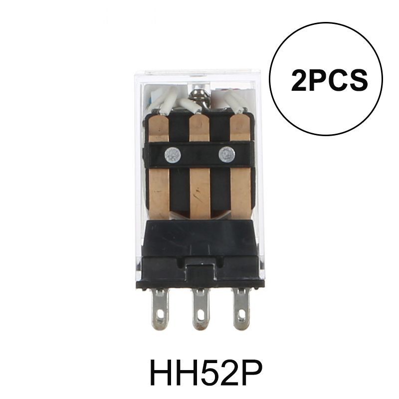 2PCS MY2NJ MY2N MY2 HH52P DC 24V Coil 8 PIN Power Relay DPDT