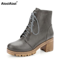 Gladiator Shoes Ladies Cross Strap Half Short Boots Square Heels Heeled Shoes Woman Warm Martin Boots