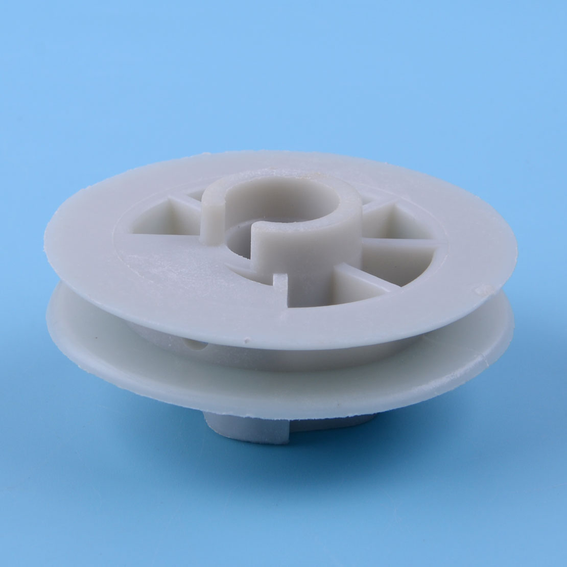 LEATOSK White Plastic Recoil Starter Start Pull Pulley Fit For Chinese 4500 5200 5800 MT-9999 45CC 52CC 58CC Chainsaw