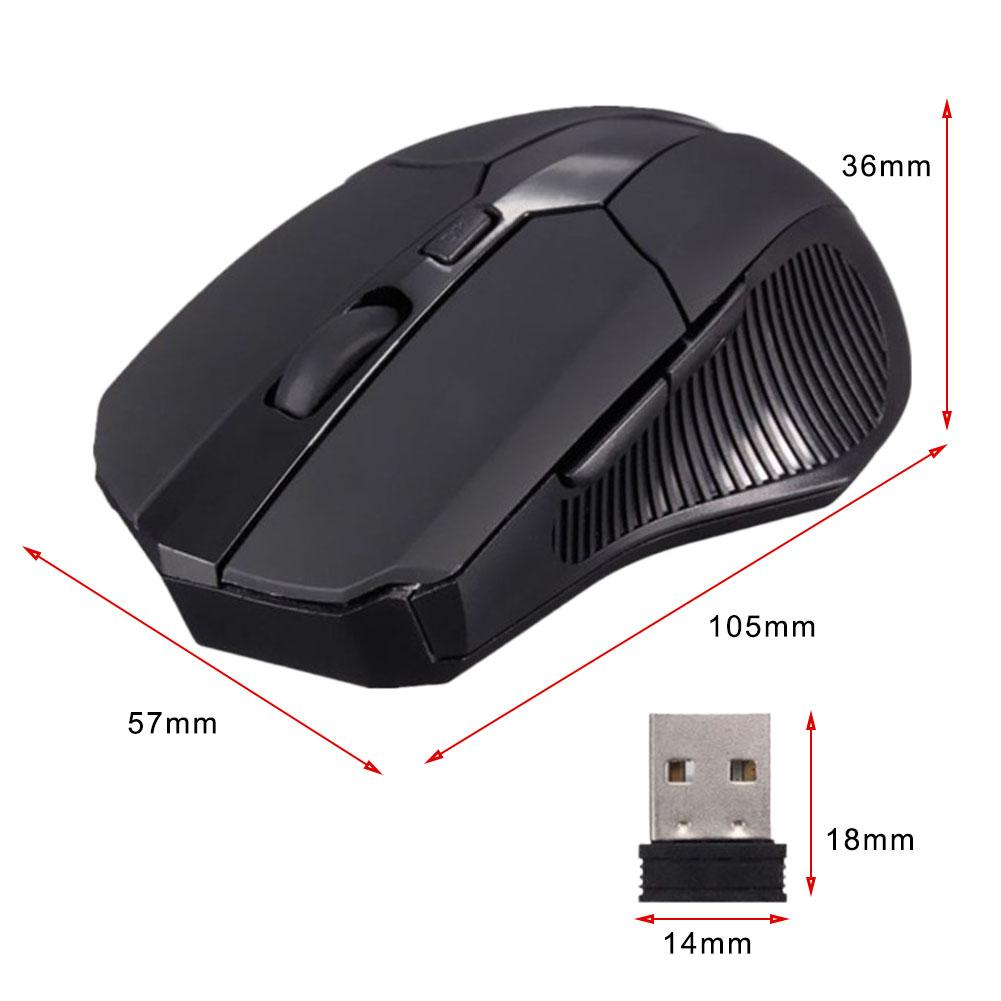 Image 5 - 2.4GHz Mini Wireless Gaming Mouse 1600DPI Wireless Optical Mouse Mice + USB 2.0 Receiver For Notebook Laptop Desktop PC MacBook-in Mice from Computer & Office