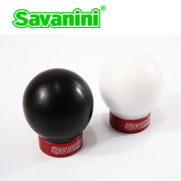 Savanini Car High quality Aluminum alloy Gear Shift Knob with UPE For Toyota Yaris, RAV4, Corolla and Nissan Tiida, Qashqai MT