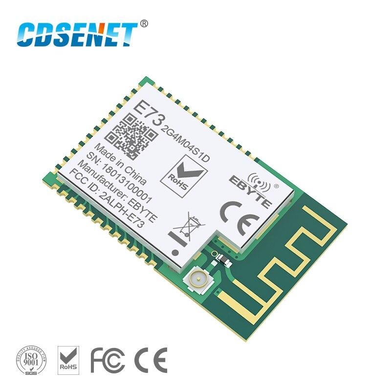 NRF51822 Ble 4,2 низкая мощность беспроводной модуль PCB антенна IPX интерфейс CDSENET E73-2G4M04S1D 4dBm Bluetooth передатчик приемник