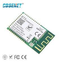 nRF51822 Ble 4.2 Low Power Wireless Module PCB IPX Antenna Interface CDSENET E73-2G4M04S1D 4dBm Bluetooth Transmitter Receiver small long distance nrf52840 bluetooth 5 5 0 module low power consumption ble 5 mesh networking module
