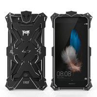 Huawei P8 Lite Case Cover Shockproof Dropprof Luxury Aviation Aluminum Metal Armor Frame For Huawei P8