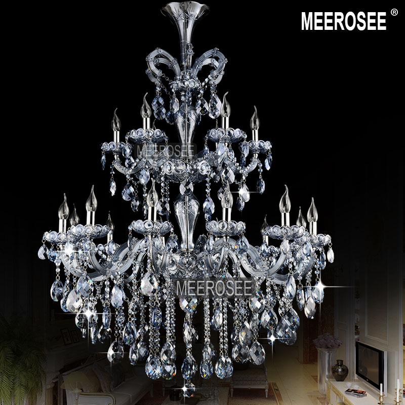 Lumină Albastră Lumină Maria Theresa Cristal Lustre mari Lustre - Iluminatul interior - Fotografie 2