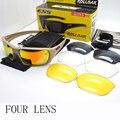 2016 Más Nueva BALLESTA Balístico Militar TR-90 gafas gafas de sol gafas de sol de los hombres gafas de sol Masculino Ejército deporte gafas a prueba