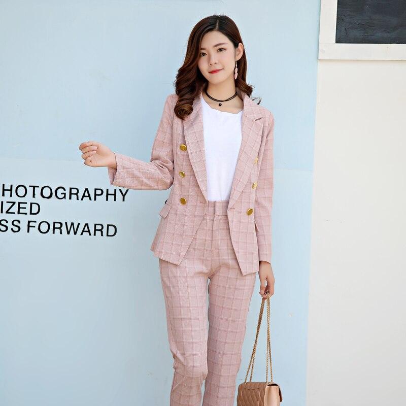 Coréenne Mince Nouvelles De Plus La Pièces Femmes Costume Ensemble Tempérament 1 Version Ensembles Couleur Unie Beau Deux Tweed Taille Tenue qS6q0rfawx