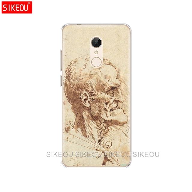 Funda de silicona para teléfono Xiaomi redmi 5 4 1 1 s 2 3 S 3 s pro PLUS redmi note 4 4X 4A 5A Italy leonardo da art