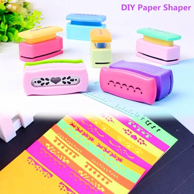 1pc Printing Flower Paper Punches Hand Shaper Cutter Card Scrapbook