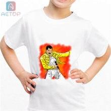7773639fe34ab Nuevo freddie mercury b022 Reino Unido camiseta de los niños de verano de  bebé lindo ropa