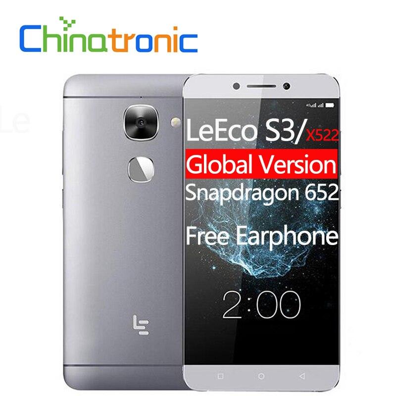 "Global Version Leeco Le S3 Letv X522 Fdd Lte Mobile Phone Snapdragon 652 Octa Core 5.5""fhd 3g Ram 32g Rom 16mp Fingerprint #2"