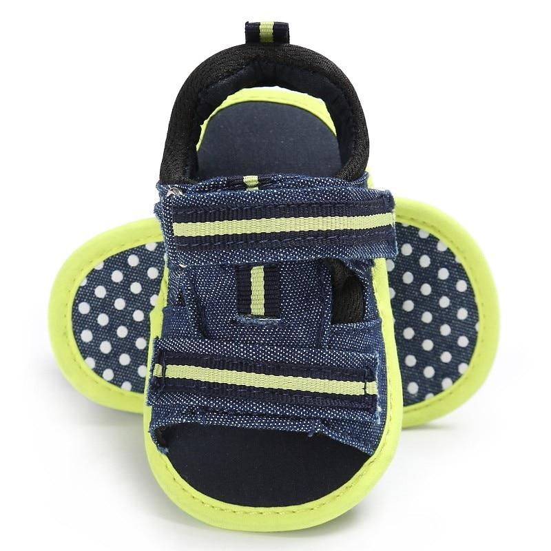 Summer Baby Shoes infantil Handsome Boys Kids Infant Toddler First Walkers Canvas Crib Bebe Prewalkers Cotton Padded Shoe
