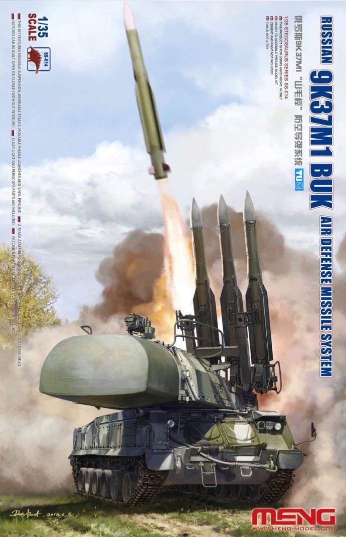 Meng Model SS 014 1 35 Russian 9K37M1 BUK Air Defense Missile System ss014