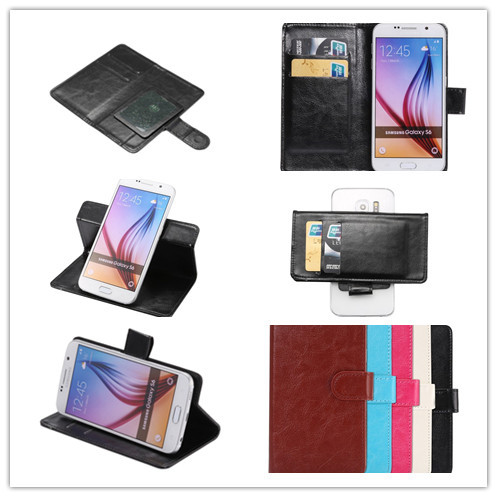 2015 New Fashion 360 Rotation Ultra Thin Flip Dirt-resistant PU Leather Phone Cases For QMobile Noir Z8/Z8 Plus