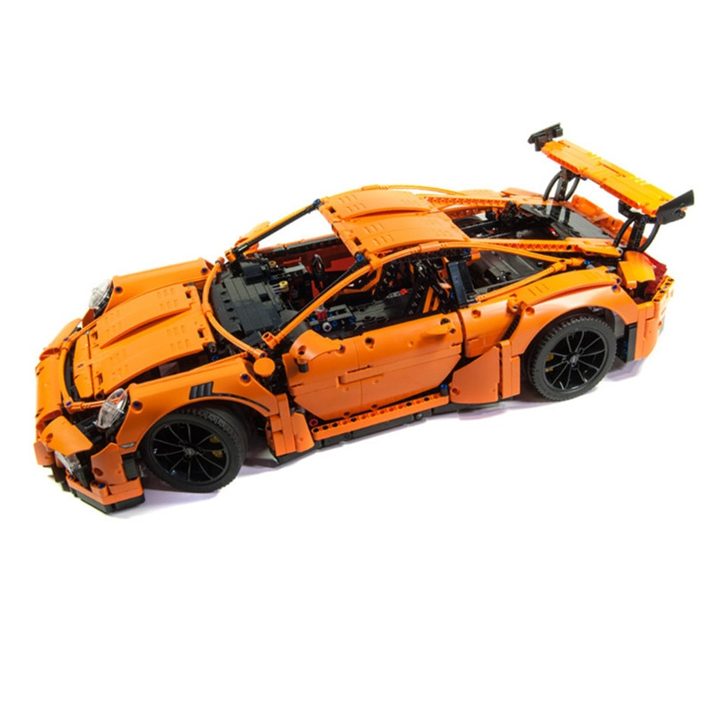 2758pcs Science And Technology Series Super Sports Car Building Blocks Toy Kit DIY Educational Children Birthday