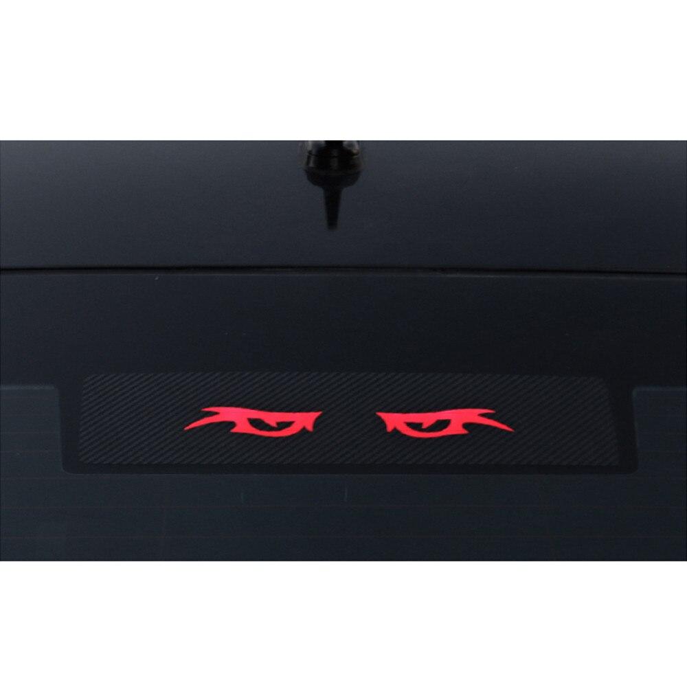 Brake Light Sticker For SKODA Superb 2016 2017 High Mount Stop Lamp Stickers Carbon Fiber Decoration Car Accessories Car-Styling