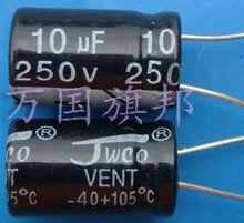 Delivery.250 v 10 uf condensador electrolítico 10 gratis en la Universidad de Florida