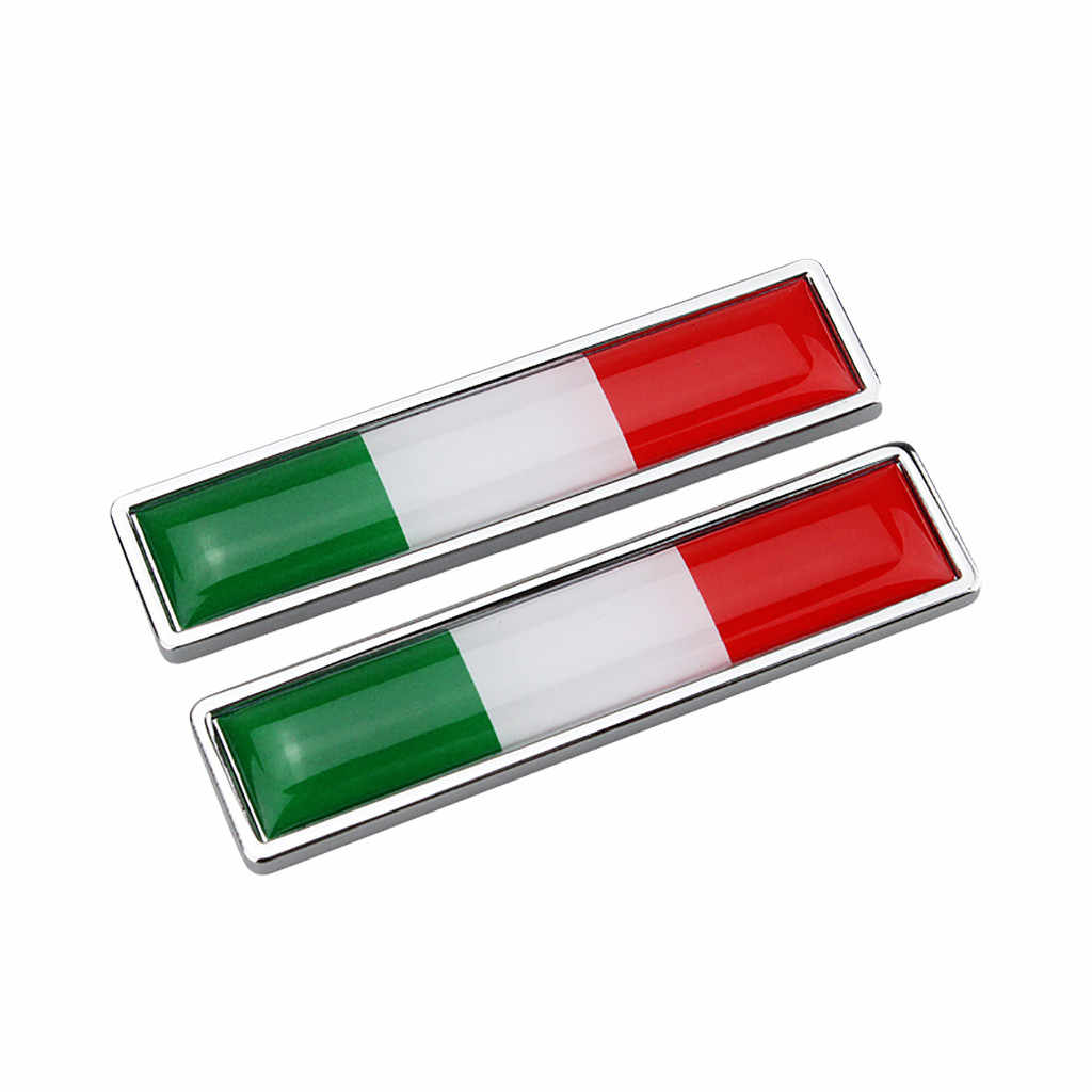 2PCS CARPRIE Car Stickers DIY metal car sticker Italy Sweden Spain Australia Russia Germany Brazil Canada Flag i20 vinyl film