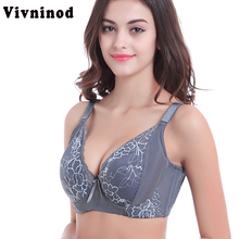 3d011ff1855a 2018 Hot Sale Plus Size Bra Cotton Full Cup Women Sexy Lace Push Up Bras New