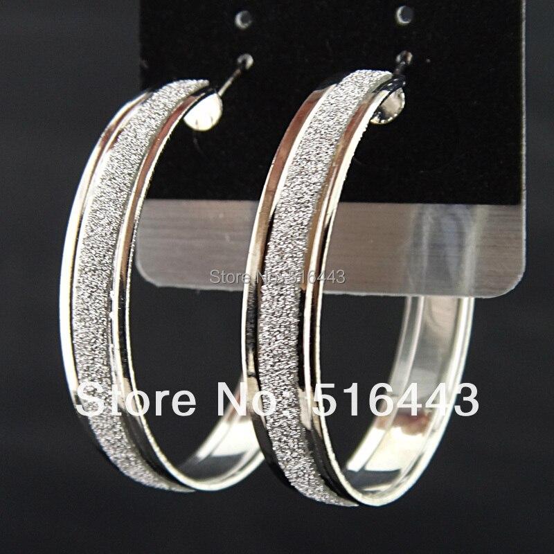 Горячая Распродажа очаровательные 12 пар смешанных стилей модные серебряные P матовые Висячие серьги для женщин ювелирных изделий A-541