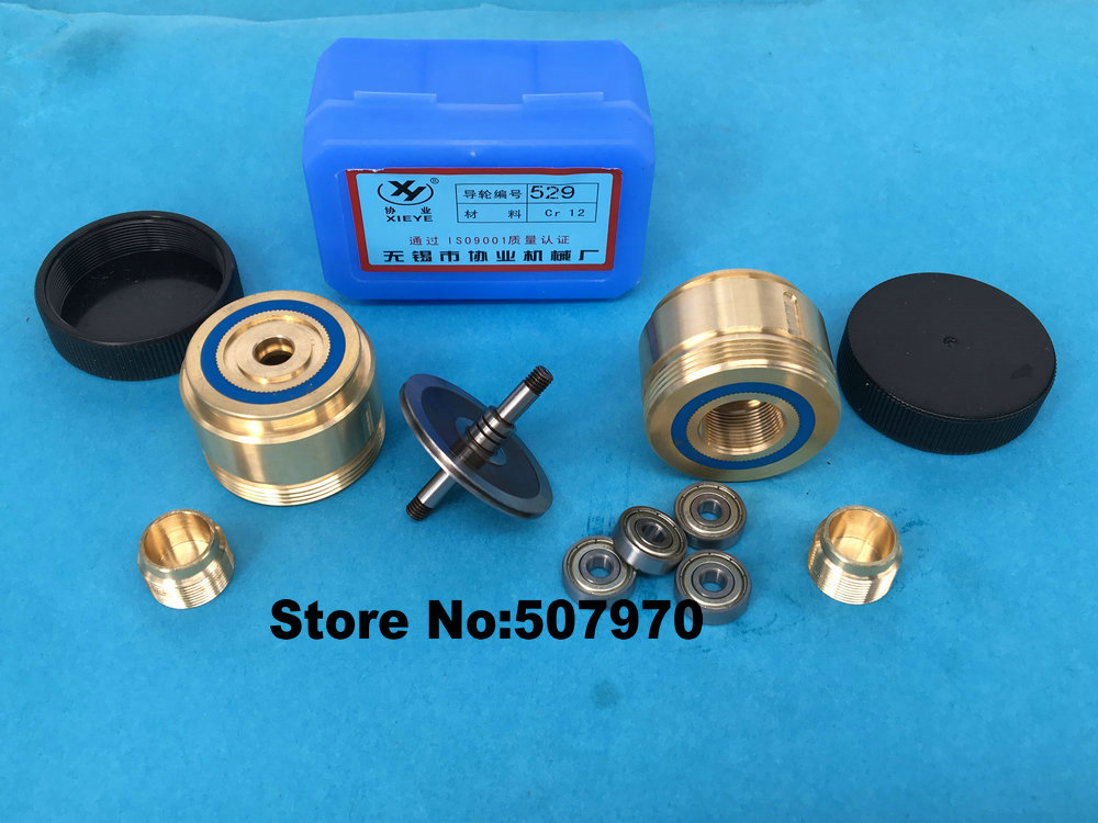 Brass Seat Pulley Assembly 529(OD42*L63mm) for EDM Wire Cut Machine ...