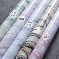 Light Green Marble Pattern Wallpaper Pvc Self Adhesive Wallpaper Red Stone Wallpaper Country Stone Self Adhesive