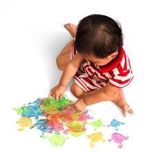 12/50 шт в наборе, Детские Классические прыжки лягушки с забавными животными Пластик Классические игрушки