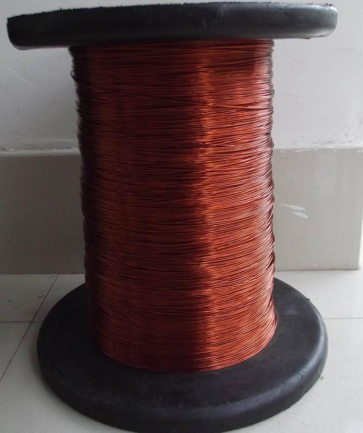 100 Meters/lot  0.74mm Mm Enameled Wire Enamelled Round Copper Wire, Polyester Paint QZ-2-130