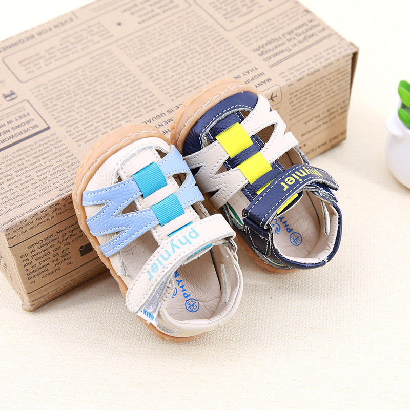 Phynier Spring and summer Collision avoidance male baby Functional shoes Toddler shoes 0-1-2 year old baby shoes