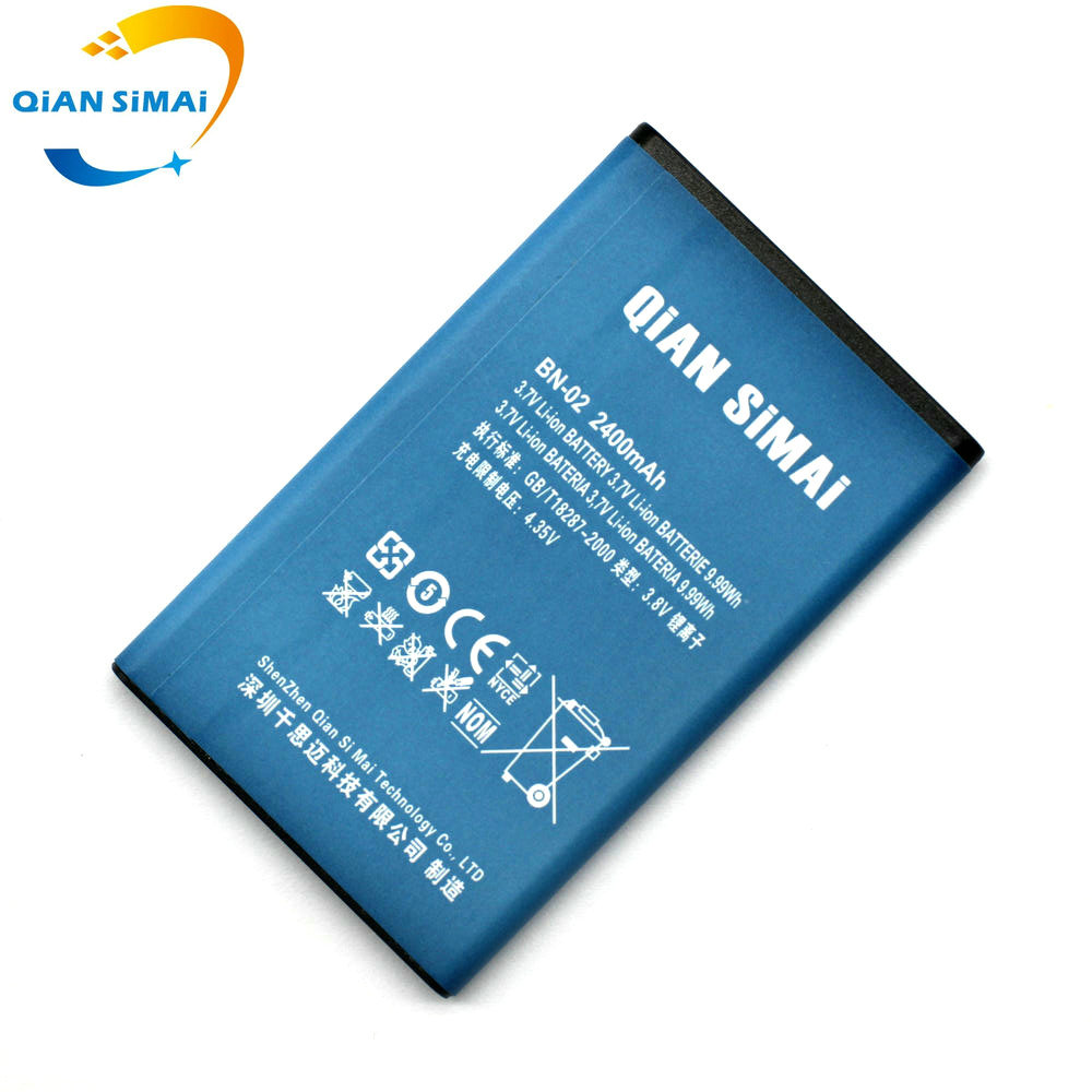 Qian Simai Byd Bn 02 Bn02 2400mah 37v Mobile Phone Replacement Nokia Xl Green Battery For 4g Rm 1061 1030 1042 In Batteries From