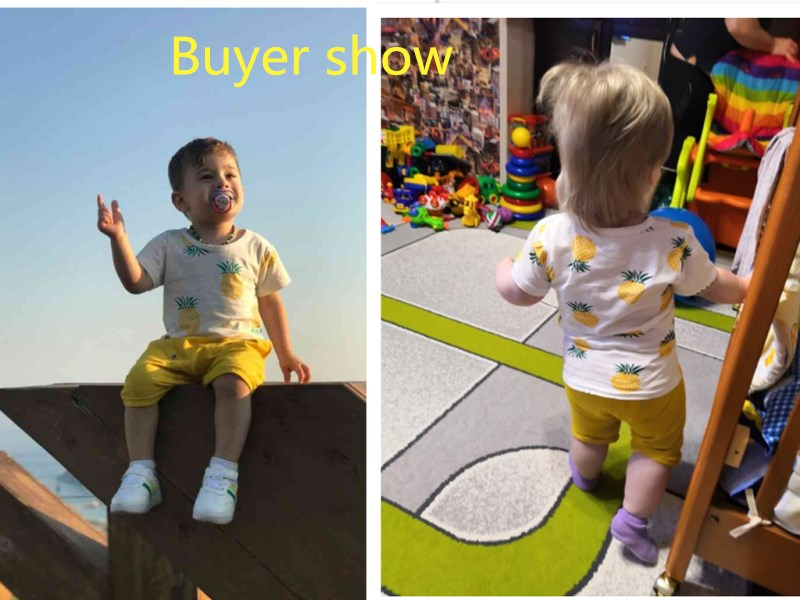 4f537b2970 Baby Boys Girls Summer Clothes Fashion Cotton Set Printed Fruit Sports Suit  For A Boy T-Shirt + Shorts Children'S Clothing. 🔍. Previous